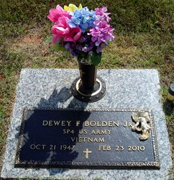Dewey Franklin Bolden, Jr
