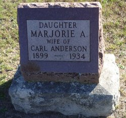 Marjorie A <i>Gustin</i> Anderson
