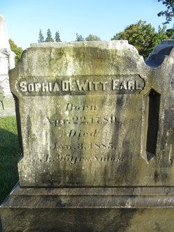 Sophia <i>DeWitt</i> Earl