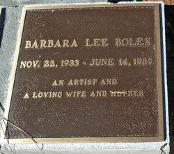 Barbara Lee Boles