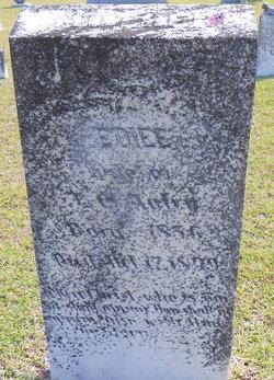 Eliza Jane Ediee <i>Dorman</i> Autry