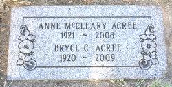 Anne <i>McCleary</i> Acree