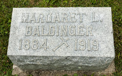 Margaret L. <i>McCartney</i> Baldinger