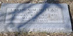 Lavinia E <i>Hamilton</i> McMillan