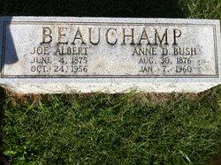 Anna Dunnington <i>Bush</i> Beauchamp