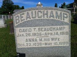 Anna M <i>Crockett</i> Beauchamp