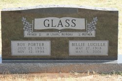 Billie Lucille <i>Scott</i> Glass