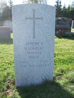 Joseph Charles Macaulay