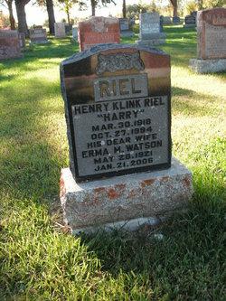 Henry Klink Harry Riel