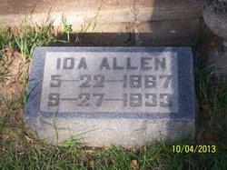Ida M <i>Dickey</i> Allen