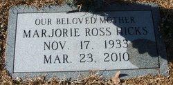 Marjorie <i>Ross</i> Hicks