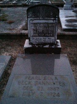 Pearl Eola <i>Beck</i> Bannister