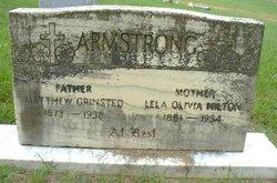 Lela Olivia <i>Hilton</i> Armstrong