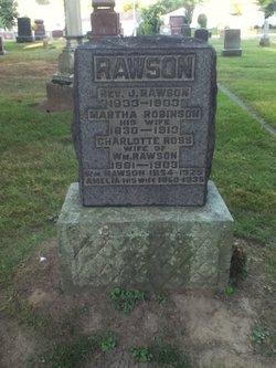 Rev Joseph Rawson