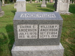 Carrie Ellen <i>Chappell</i> Anderson