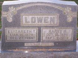Harry Hall Lowen