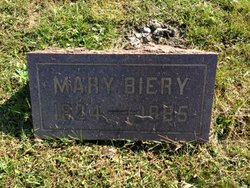 Mary <i>Hartzell</i> Biery