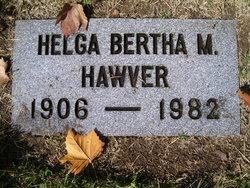 Helga Bertha Hawver