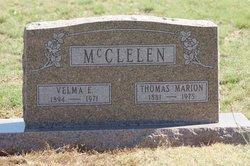 Velma E McClelen
