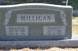 Frances B Milligan