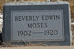 Beverly Edwin Moses
