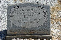 Bobbie L <i>Wooten</i> Duty