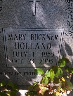 Mary <i>Buckner</i> Holland