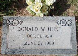 Donald Wayne Hunt