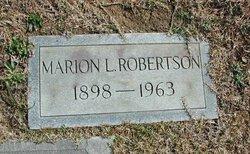 Marion L Robertson