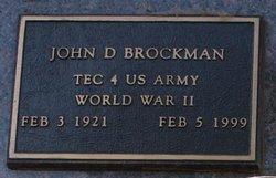 John David Brockman