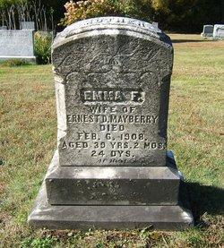 Emma F. <i>Hammond</i> Mayberry
