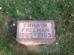 Emma M. <i>Thayer</i> Freeman