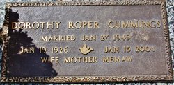 Dorothy Lee <i>Roper</i> Cummings