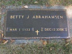 Betty <i>Andrew</i> Abrahamsen