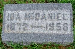 Ida Rebeccah <i>Tibbs</i> McDaniel
