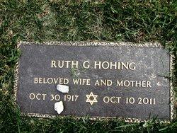 Ruth G. <i>(Gerson)</i> Hohing
