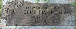 Mrs Gladys Louise Louise <i>Piano</i> Cimino