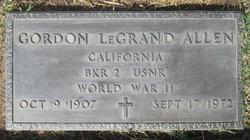 Gordon LeGrande Allen