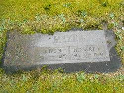 Olive R. <i>Werner</i> Meyer