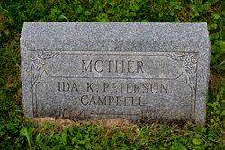 Ida K <i>Peterson</i> Campbell