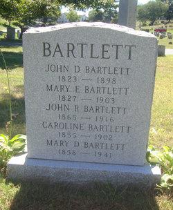 Mary E. <i>Russell</i> Bartlett