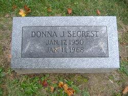 Donna Jean <i>Dunn</i> Secrest