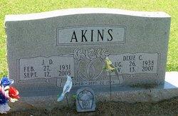 Dixie M <i>Chambliss</i> Akins