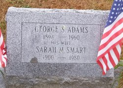 Sarah Margaret Sadie <i>Smart</i> Adams