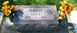 Ella Jean <i>Daniels</i> Boblitt
