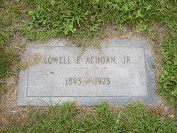 Lowell F. Achorn, Jr