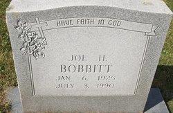 Jor H Bobbitt