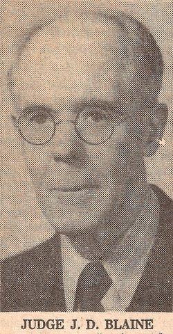 Judge John Dodridge Blaine