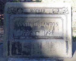 Annie <i>F</i> Lawton