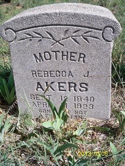 Rebecca Jane <i>Burrow</i> Akers